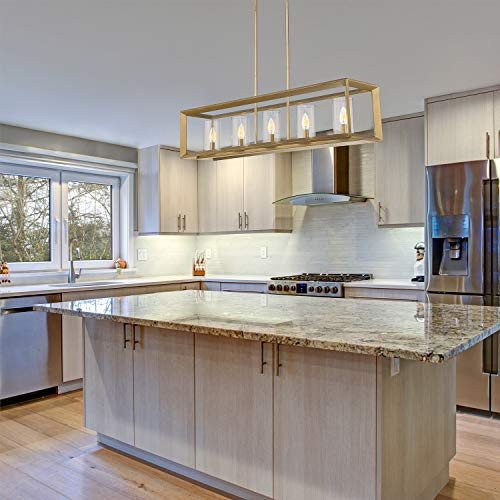 Brushed brass is treasured for its golden hue and impactful effect on your overall kitchen design.