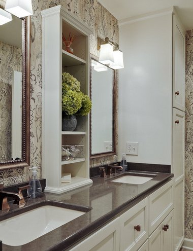 tiny bathroom for two mirror example