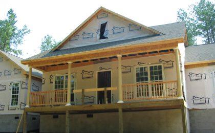 porch under construction